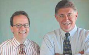 Brian Kelly and Steve Greensburg