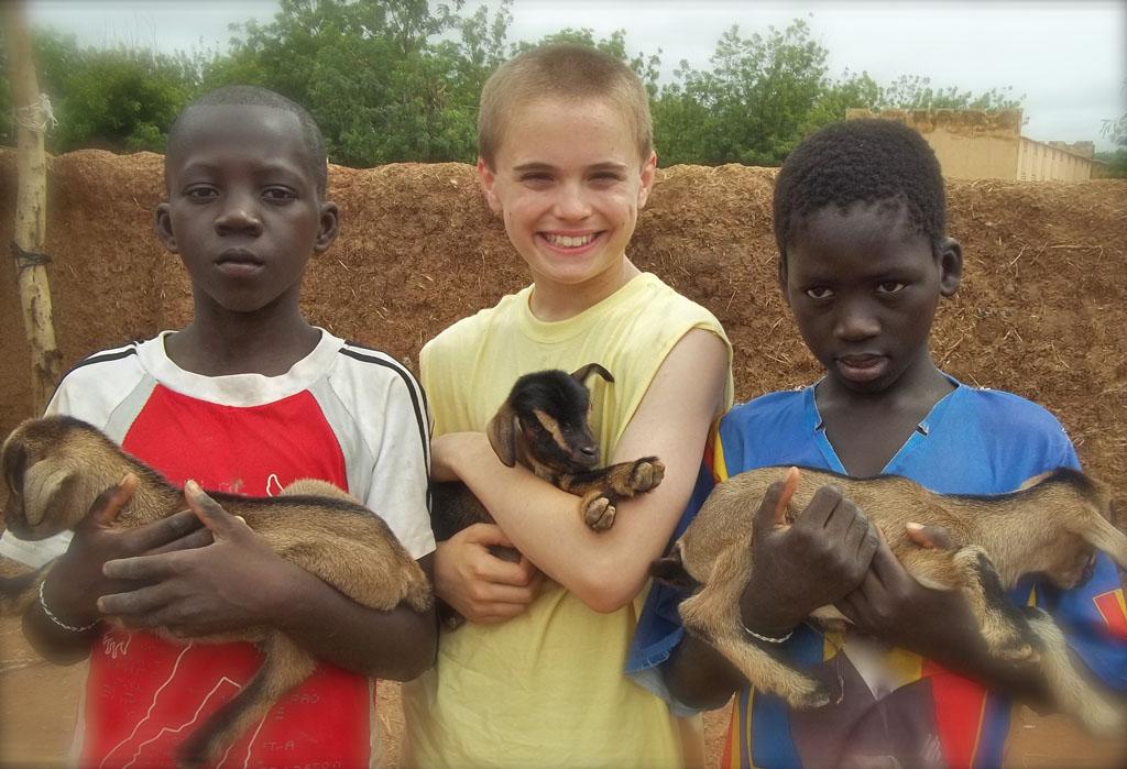 Broyles recently traveled to Mali to film a documentary