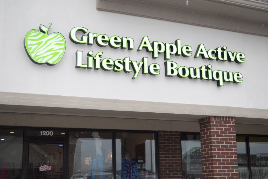 """Opening last November, Green Apple Active Lifestyle has become the community's """"sporty-chic"""" boutique."""