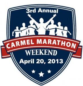 2013 Carmel Marathon logo