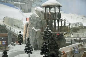 Dubai's indoor Ski Slopes. (Photo by Don Knebel)