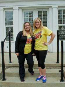 Dusty Marshall (Coordinator) and Katie Easter (Teacher).