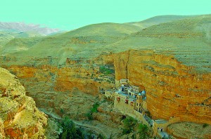 CIZ-TravelKnebelSt. George's Monastery in Wadi Qelt