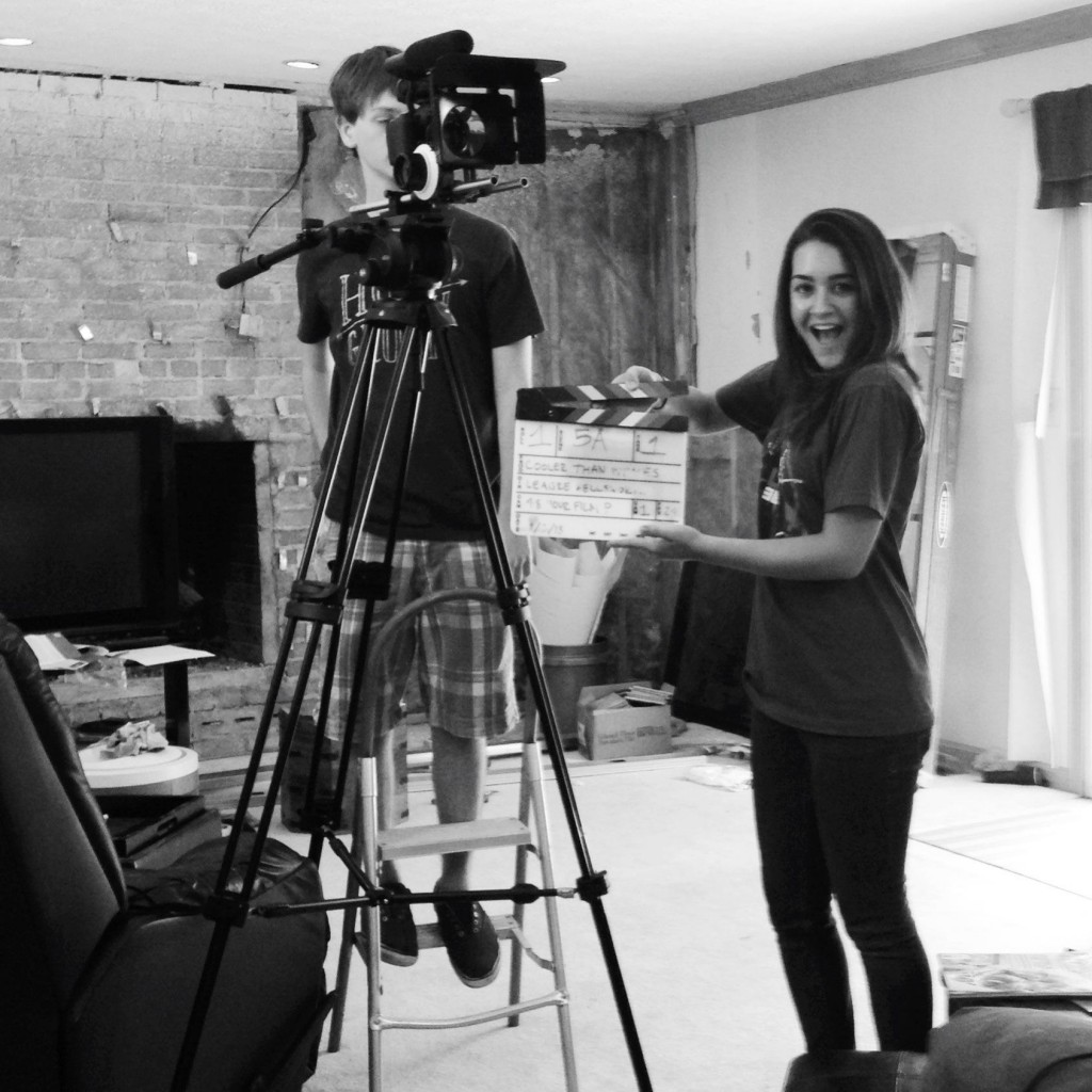 Carmel resident Molly Anzalone, a student at Columbia College in Chicago will have a film short, 'Serum,' in the Heartland Film Festival. (Submitted Photo)