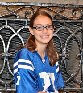 Brooke Barbato will stand alongside Colts captains.