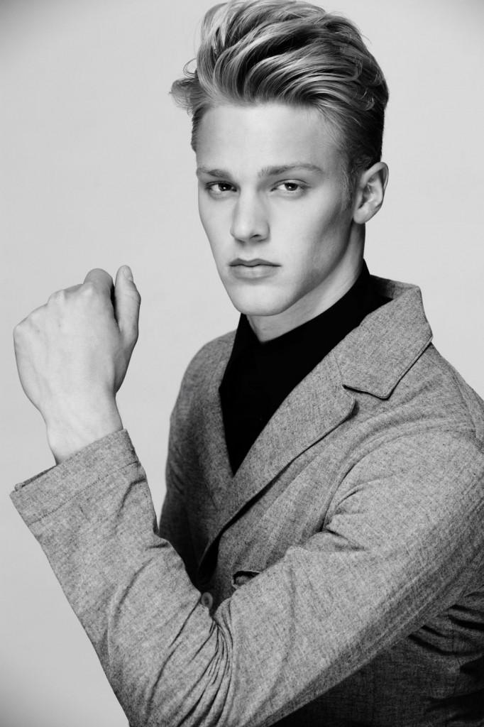 Model Clark Bockelman graduated from Brebeuf. (Submitted photo)