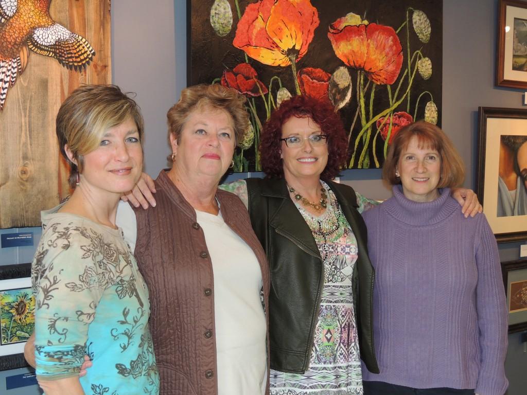 From left. Julie Cranfill, Nancy Waltz, Wend Boomhower and Jan Snyder.