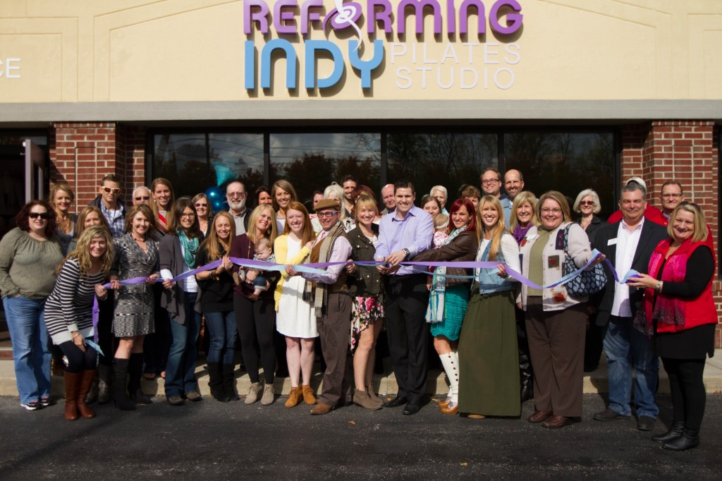 Reforming Indy Pilates Studio, a 2,500 square foot facility at Fall Creek and Brooks School Roads recently celebrated their grand opening and held their first classes on Nov. 4. (Submitted Photo)