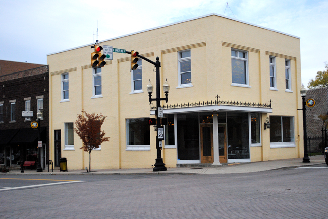The building at the northwest corner of Main Street and Range Line Road in Carmel will house Edmonds International USA on the first floor in addition to the existing law offices of Curtis Butcher on the second floor.