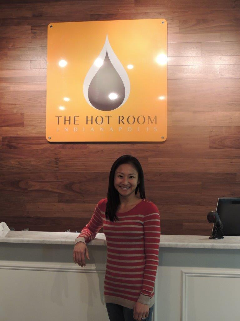 Hye Jin Kalgaonkar's The Hot Room allows people to practice yoga and work up a sweat. (Photo by Tonya Burton)