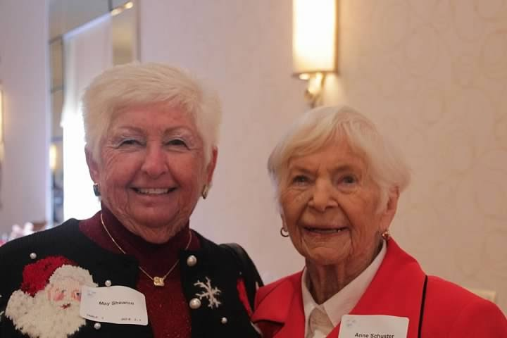 May Shearon and Anne Schuster are both charter members of Assistance League of Indianapolis and actively support the Silver Star Celebration. (Submitted photo)