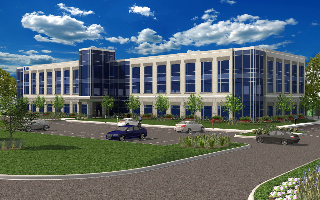 This is an artist's rendering of what the new LIDS headquarters could look like. (Submitted rendering)