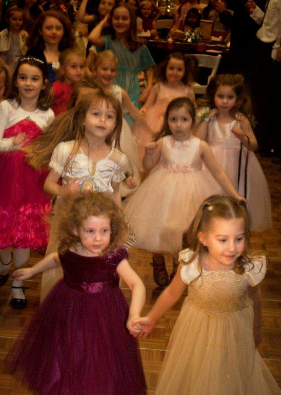 Young girls will have the chance to dress up and ride in a horse-drawn carriage at the Monon Center's Princess Ball. (submitted photo by Dwayne Jones Dockery)