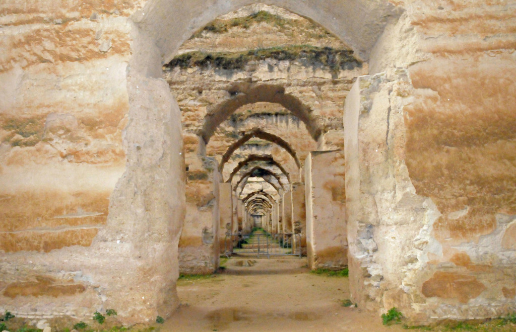 Stable at Meknes, Morocco (Photo by Don Knebel)