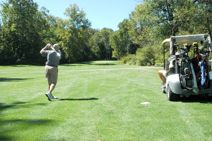 Brookshire Golf Course management is considering buying a new fleet of golf carts. (Staff photo)