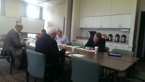 4CDC president Ron Carter was absent from the board meeting June 19, so issues pertaining to complying with the Indiana Public Records Law will likely be addressed at its July meeting. (Staff photo)