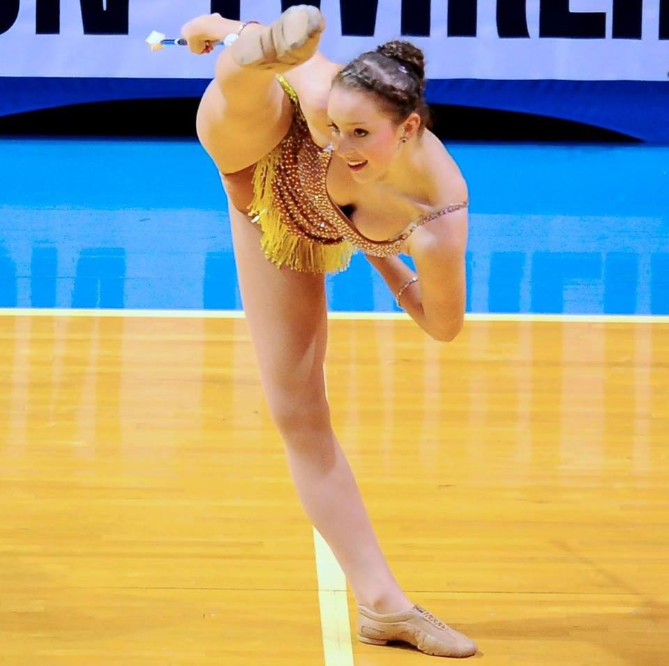 Adaline Bebo will compete in England this week at the World Baton Twirling Championships. (Sub- mitted photo)