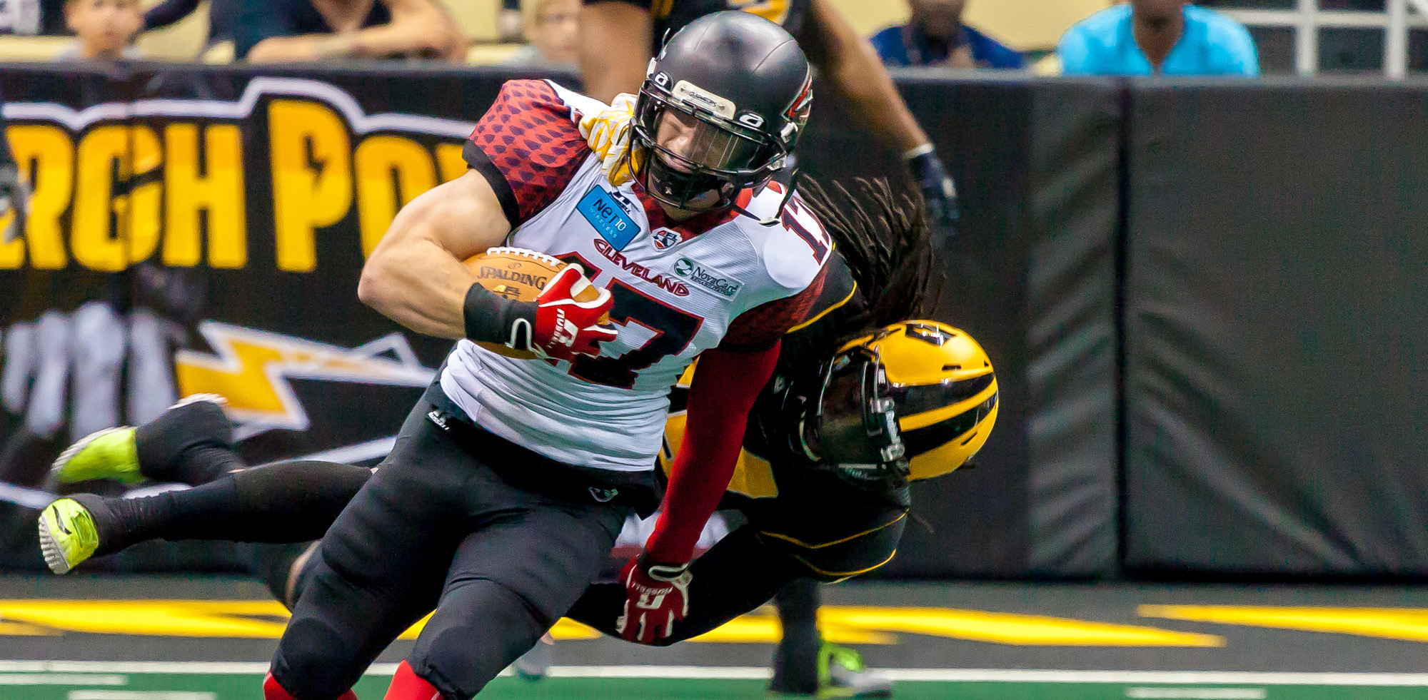 Collin Taylor, a Carmel grad, now plays for the Arena Football League. (Submitted photo)