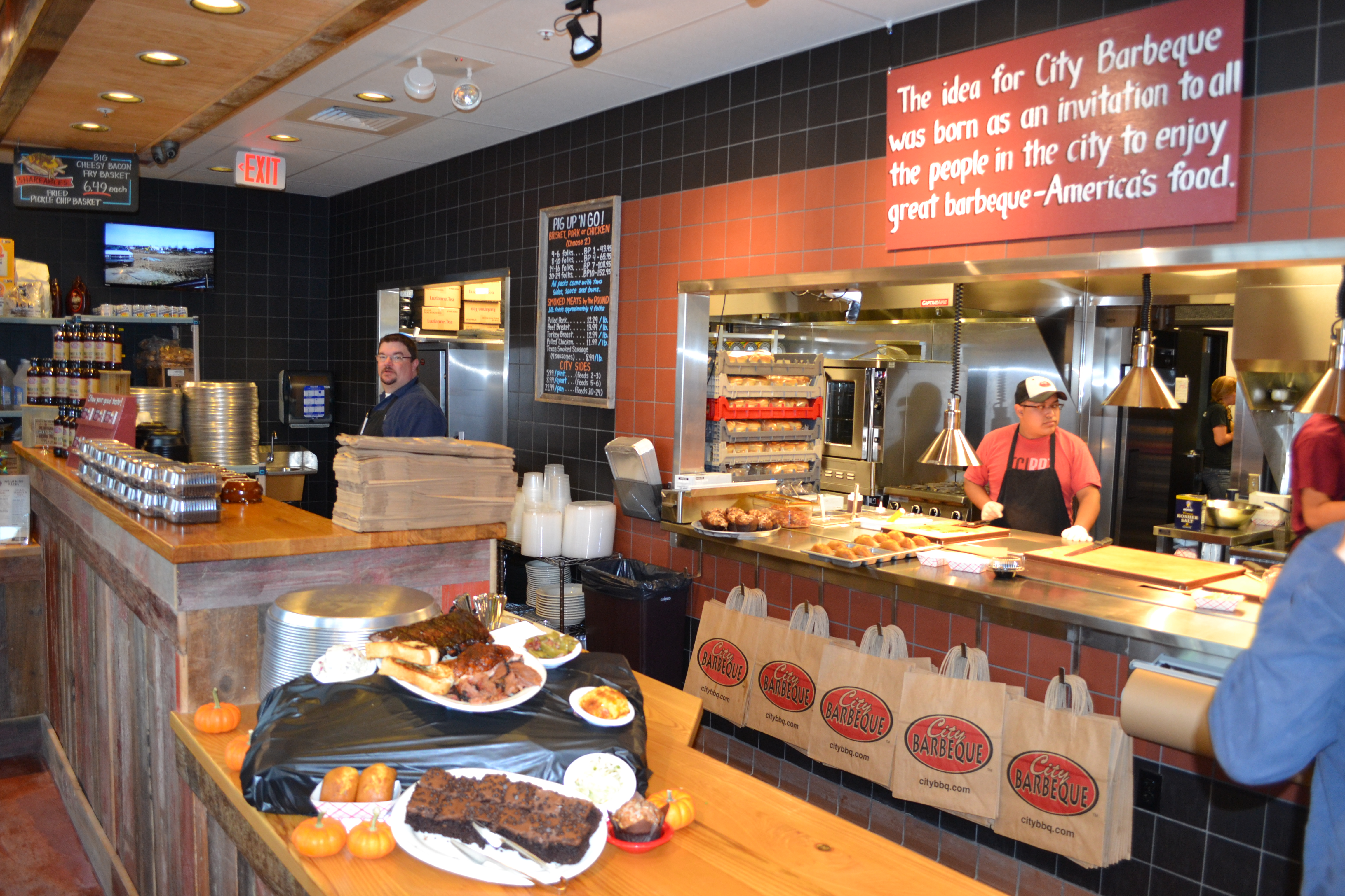 City Barbeque is now open in Fishers Marketplace. It is one of seven new restaurants opening in the center at 131st Street and Ind. 37. (Photo by John Cinnamon)