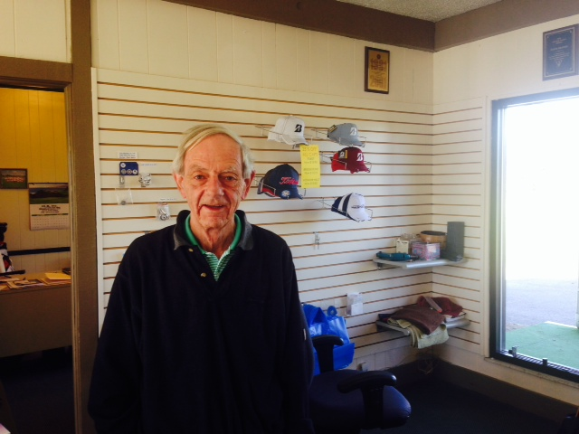 Steve Shanks has been assistant pro at Mohawk Hills Golf Club for 40 years. (Photo by Mark Ambrogi)