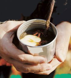 Hot cider is a perfect way to stay warm during chilly games. (Submitted photo)