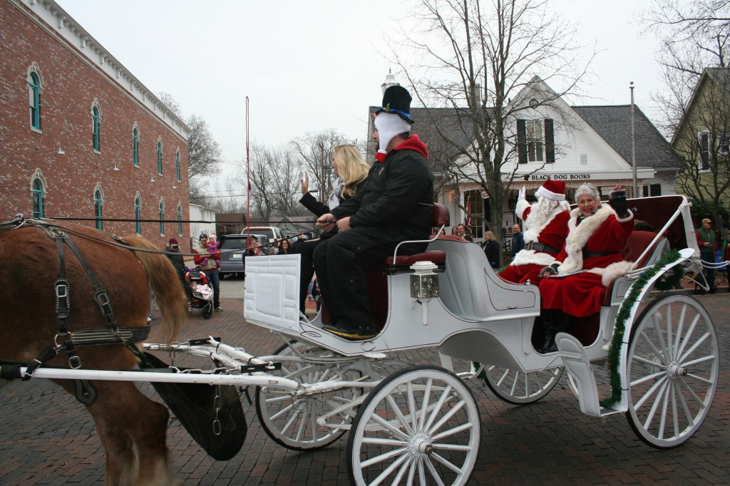An annual parade helps kick off Christmas in the Village. (File photo)