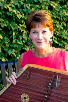 Sharon O'Connell, of Carmel, is a hammered dulcimer player. (Submitted photo)