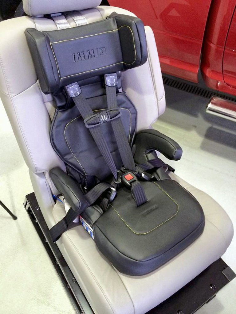 IMMI donated 10 of its GO hybrid car seats to the Westfield police and fire departments, making the city the first to pilot the municipal use of the GO. (Submitted photo)