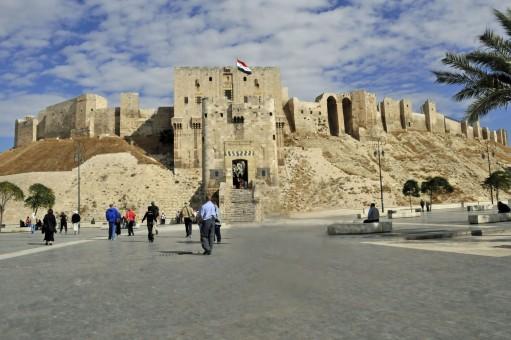 Citadel of Aleppo in November 2010 (Photo by Don Knebel)