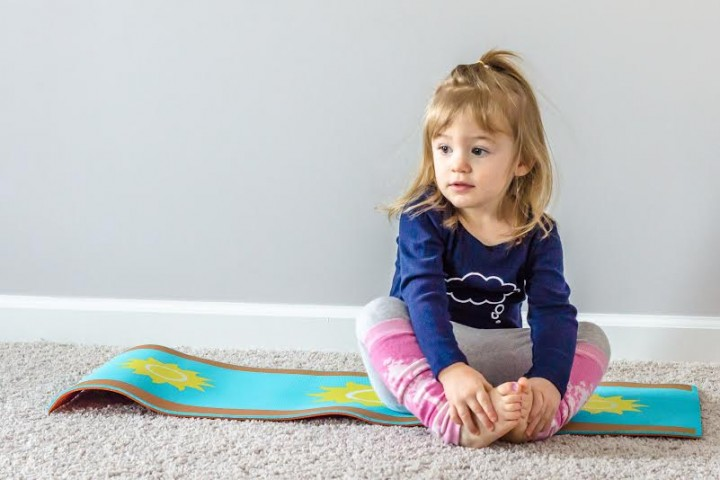 Children can enjoy mimicking the motion of a butterfly through yoga. (Submitted photo)