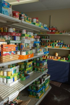 The food pantry served 3,588 Boone County families in 2014.