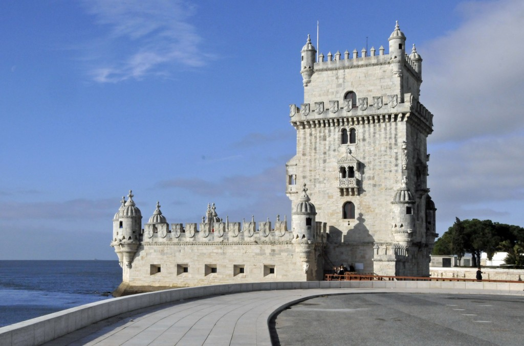 Tower of Belém as seen from the east. (Photo by Don Knebel)