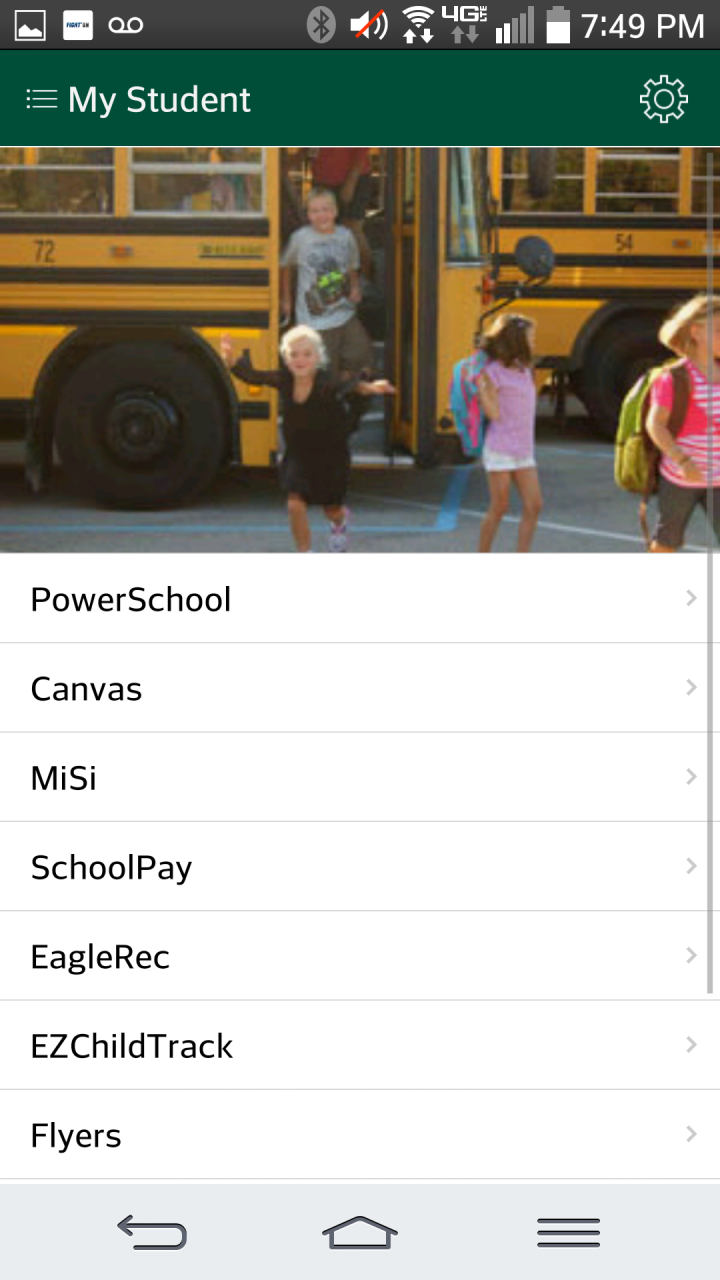 The new ZCS allows users to view calendars, pay fees, see lunch menus and much more.
