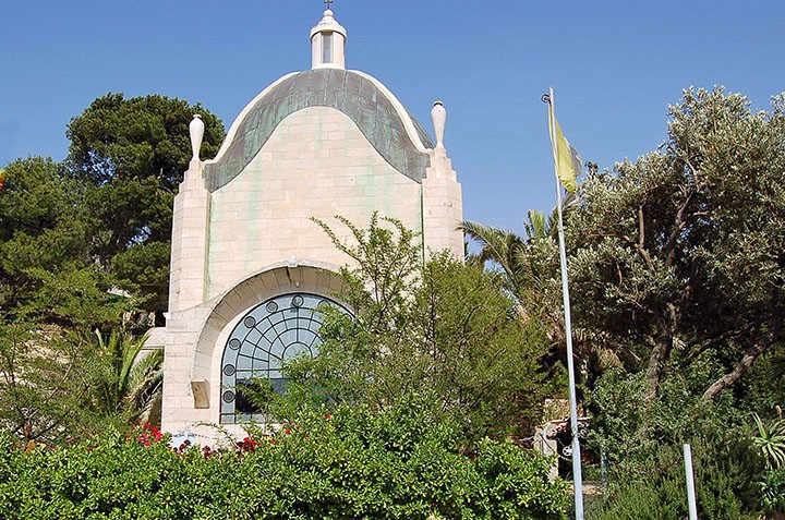 Jerusalem's Church of Dominus Flevit. (Photo by Don Knebel)