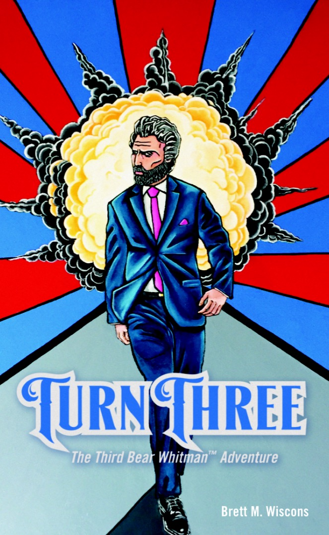 """Turn Three"" is available on Amazon.com or BrettWiscons.com."