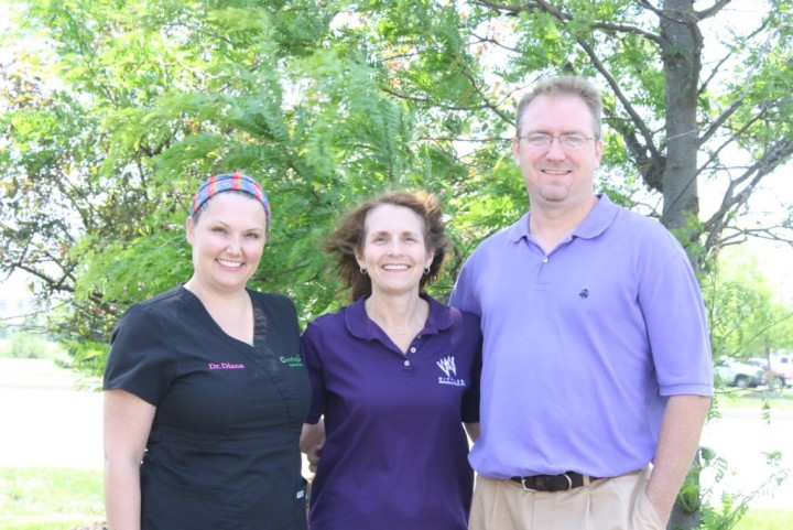 Dr. Diana Koslowski (left), Dr. Michelle Wittler (center), and Dr. Jason Flannagan teamed up to sponsor an event for the Westfield Youth Assistance Program. (Submitted photo)