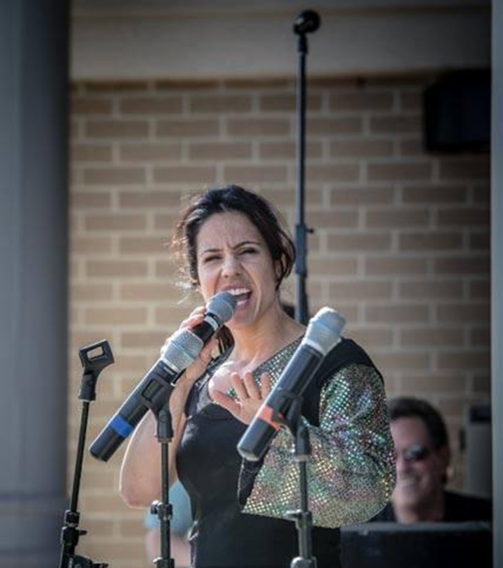 Lauren Lowrey performing at Nickel Plate Amphitheater. She will be performing at 'Girls Night Out'. (Submitted photo)