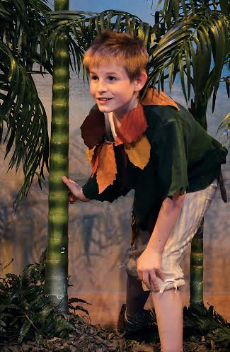 """Colin McCabe as Dweasle, a Lost Boy in """"Peter Pan."""" (Submitted photo)"""