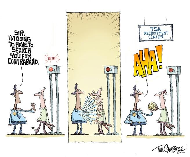 TSA Contraband