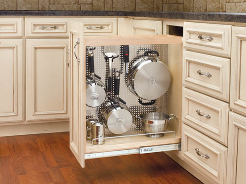 Clever compartments in your kitchen can help de-clutter. (Submitted photo)