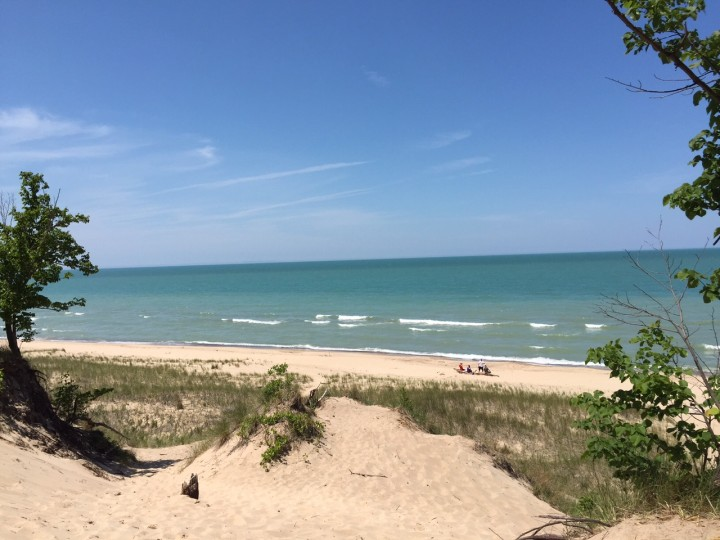 The sandy beaches of the Indiana dunes. (Submitted photo)