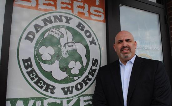 Kevin Paul, owner of Danny Boy Beer Works. (File photo)