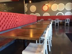 Inside the new Punch Burger in Carmel.