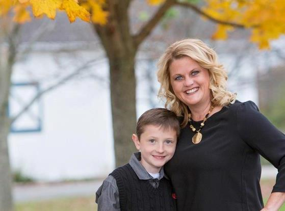 Jenn Kampmeier and her son, Zane, who was the inspiration to create Indy Family Fest. (Submitted photo)