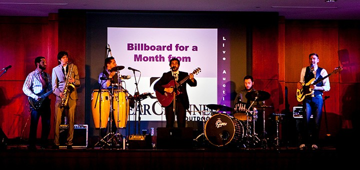 The band Fernando Tarango performs at last years Hair Ball. Fernando Tarango will perform again at this year's event. (Submitted photo)