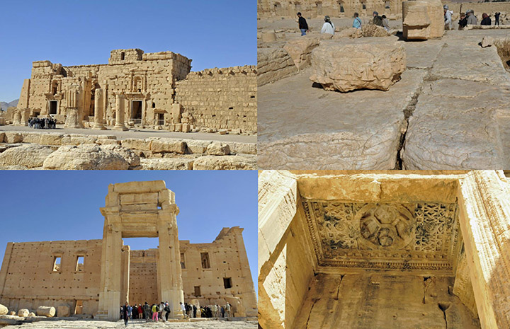 Temple of Ba'al in Palmyra, Syria, in November 2010 (Photo by Don Knebel)