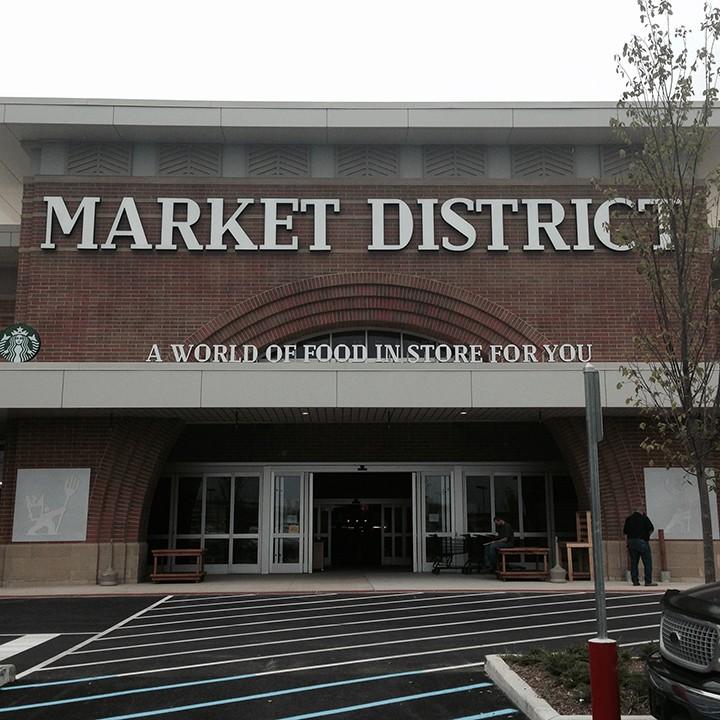 The new Market District in Carmel. (Photo by Mark Ambrogi)