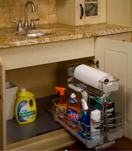 Custom cabinets can provide many types of storage for different uses. (Submitted photo)