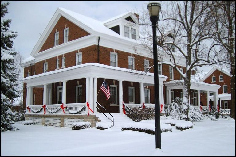 One of the historic Fort Benjamin Harrison homes on featured on the Holiday Home Tour. (Submitted Photo)