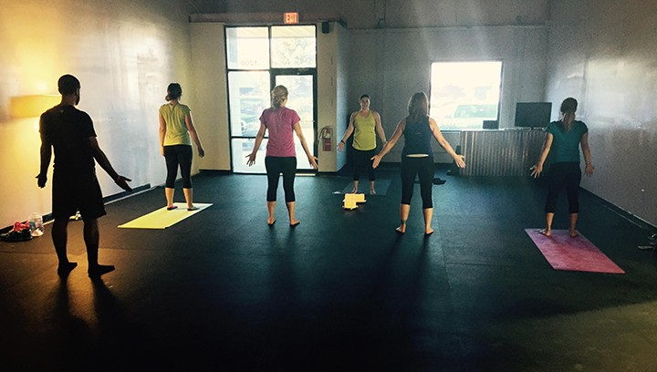 The new Thrive yoga studio is a part of Crossfit Thrive. (Submitted photo)